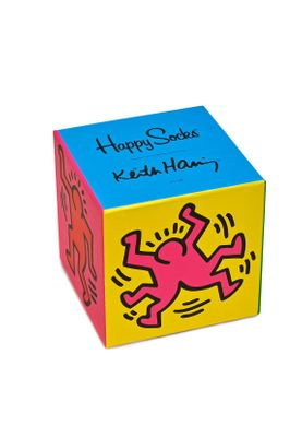 Happy Socks Geschenkbox KEITH HARING GIFT BOX XKEH08-0100 Mehrfarbig – Bild 1