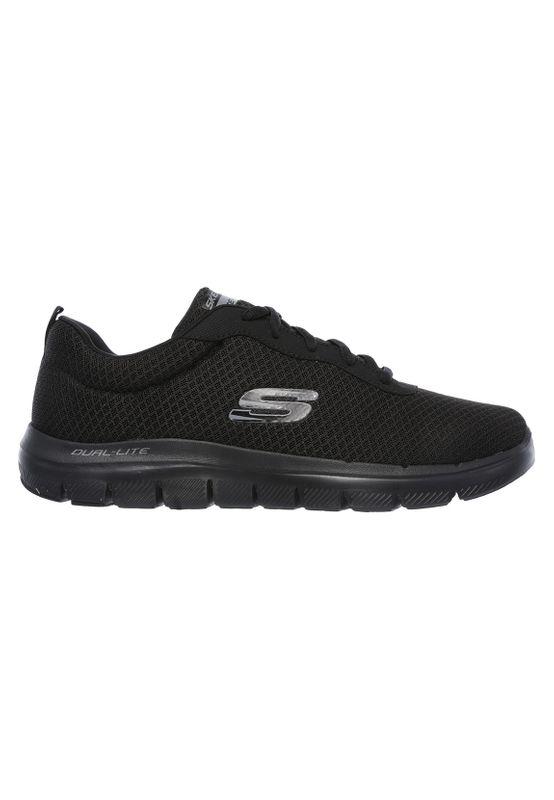Skechers Sneaker Herren FLEX ADVANTAGE 2.0 DAYSHOW 52125 BBK Black Schwarz – Bild 1