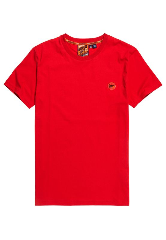 Superdry T-Shirt Herren COLLECTIVE TEE Rouge Red Rot