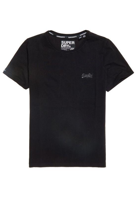Superdry T-Shirt Damen OL ELITE CREW NECK TEE Black