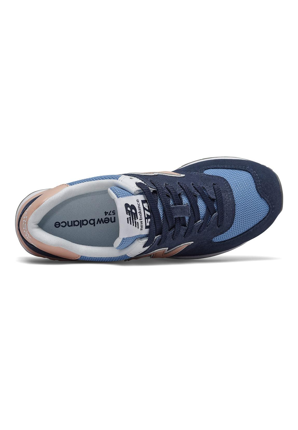 cheap for discount 658cb 6a126 New Balance Sneaker Damen WL574WND Mehrfarbig Navy Pink