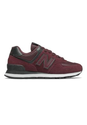 New Balance Sneaker Damen WL574WNR Bordeaux Red Black – Bild 0