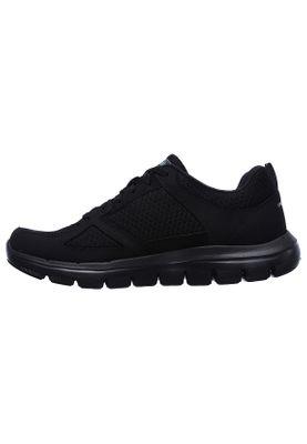 Skechers Sneaker Herren FLEX ADVANTAGE 2.0 LINDMAN 52189 BBK Black Schwarz – Bild 1