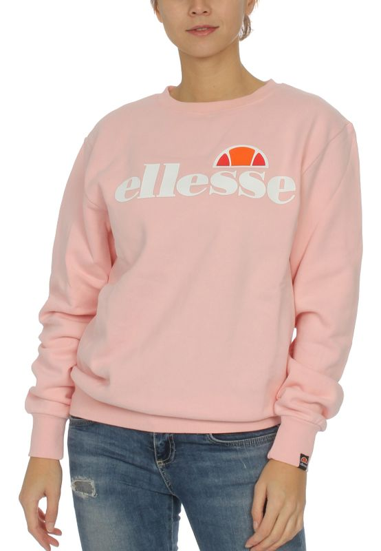 Ellesse Sweater Damen AGATA SWEATSHIRT Rosa Light Pink Ansicht