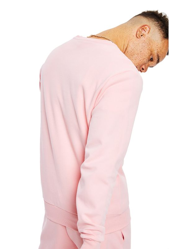 Ellesse Sweater Herren CIMONE SWEATSHIRT Rosa Light Pink – Bild 1