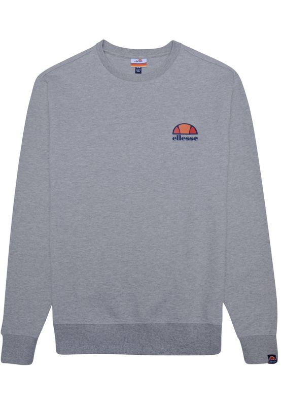 Ellesse Sweater Herren PERTH SWEATSHIRT Grau Grey Marl – Bild 2