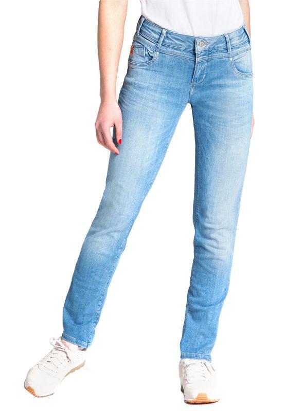 Miracle of Denim Damen Jeans REA REGULAR FIT SP19-2012 Cairo Blue – Bild 1