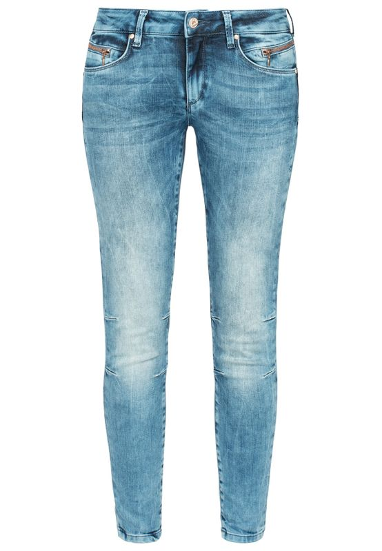 Miracle of Denim Damen Jeans EVA SKINNY ANKLE NOS-2032 Spring Blue Ansicht