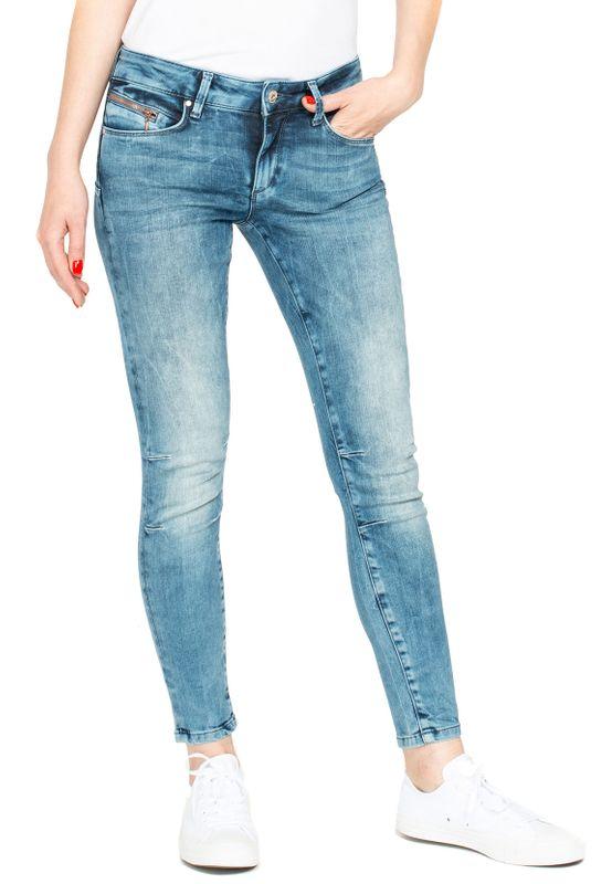 Miracle of Denim Damen Jeans EVA SKINNY ANKLE NOS-2032 Spring Blue – Bild 1