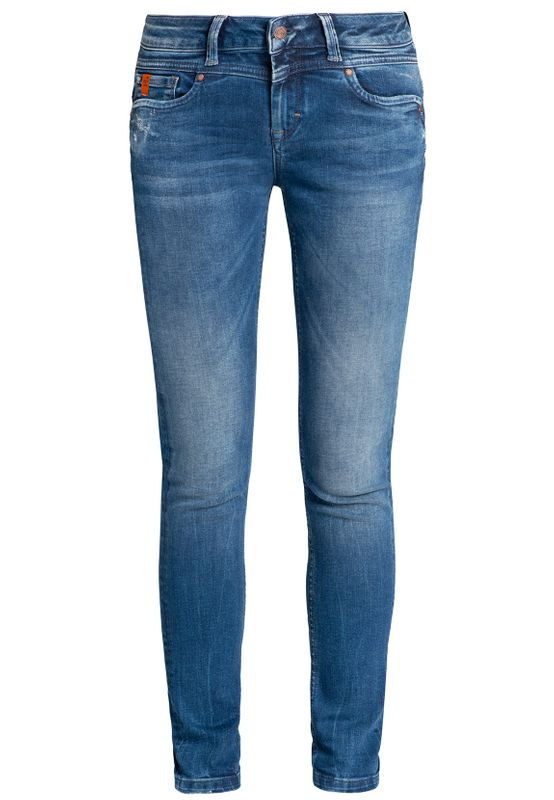 Miracle of Denim Damen Jeans ELLEN SKINNY FIT AU19-2002 Pelican Blue Ansicht