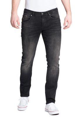 Miracle of Denim Herren Jeans RICARDO SLIM AU18-1002 Brunnera Black – Bild 1
