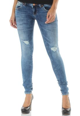 LTB Damen Jeans JULITA X Sior Wash Mittelblau – Bild 0