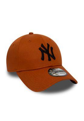 New Era League Essential 39Thirty Cap NY YANKEES Orange Schwarz – Bild 2