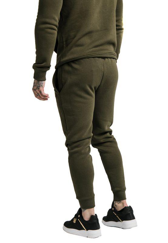 SikSilk Jogger Herren MUSCLE FIT JOGGER SS-16081 Khaki – Bild 2