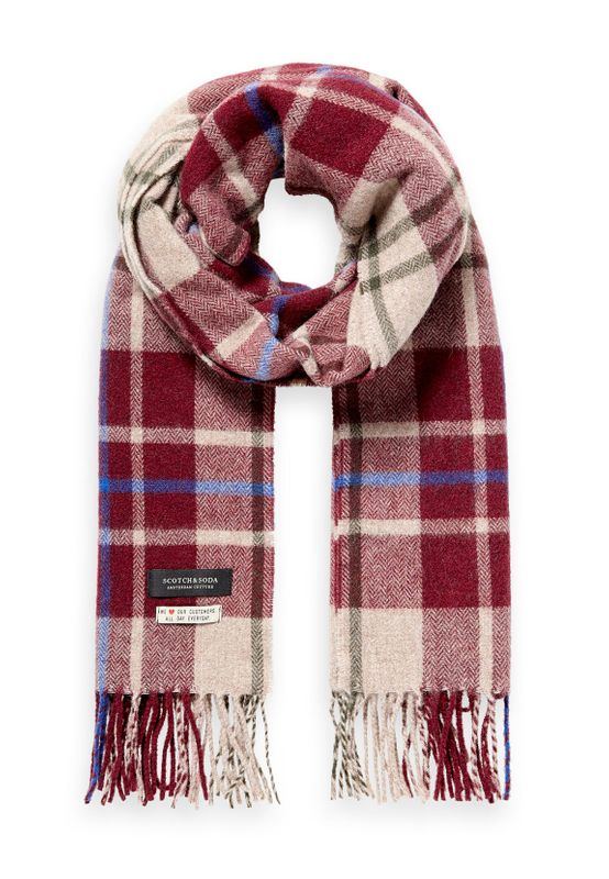 Scotch & Soda Schal CLASSIC WOVEN CHECK SCARF 152855 Mehrfarbig 0218 Ansicht