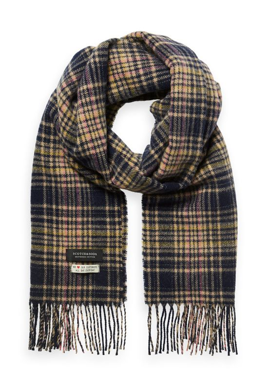 Scotch & Soda Schal CLASSIC WOVEN CHECK SCARF 152855 Mehrfarbig 0221 Ansicht