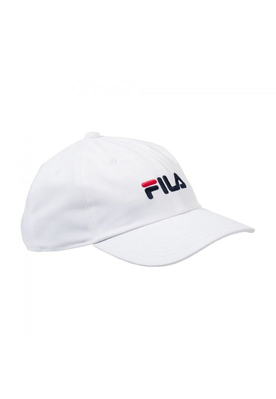 Fila Cap DAD CAP STRAP BACK LINEAR LOGO 685034 Weiss  M67  Bright White