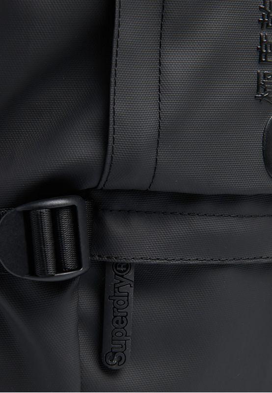Superdry Rucksack SLIM LINE TARP Black – Bild 3