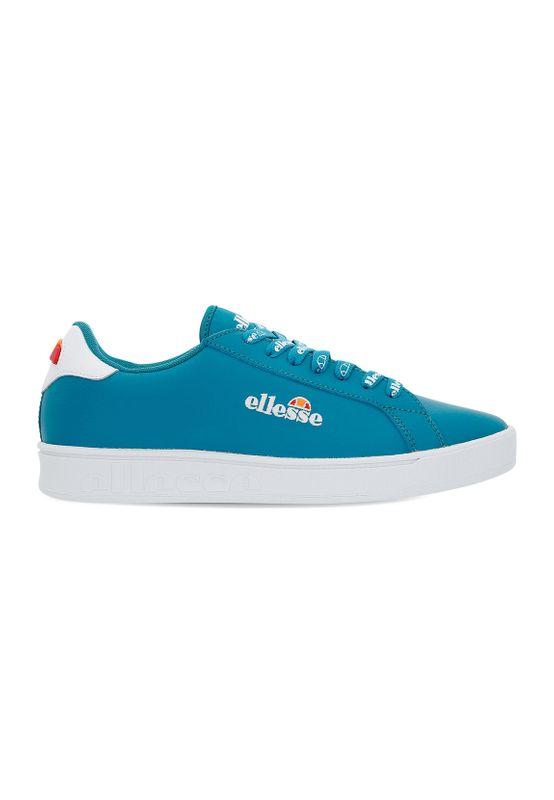 Ellesse Sneaker Damen CAMPO EMB LTHR AF 6-10488 Türkis Weiß Trqs Wht  Ansicht