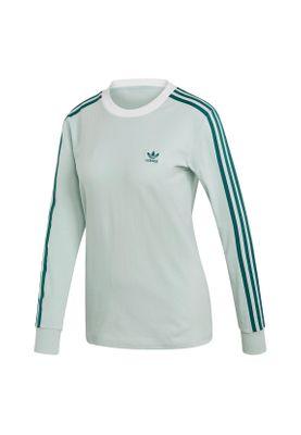 Adidas Originals Longsleeve Damen 3 STR LS TEE ED7499 Mintgrün – Bild 0