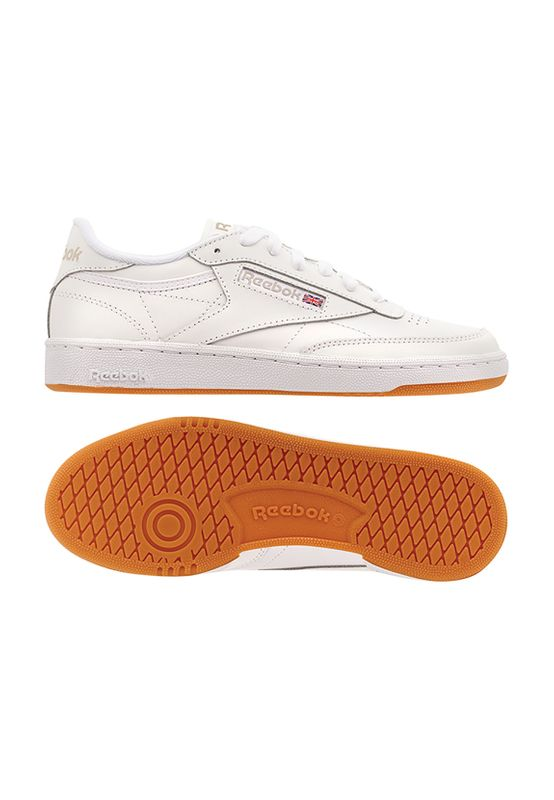 Reebok Sneaker CLUB C 85 BS7686 Weiß White Light Grey Gum Ansicht