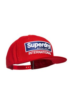 Superdry Cap INTERNATIONAL B-BOY Red