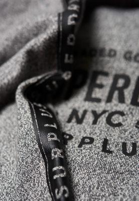 Superdry T-Shirt Herren SURPLUS GOODS LS Speckle Grit – Bild 1