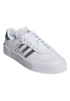 Adidas Originals Sneaker SAMBAROSE W EE9017 Weiss Silber – Bild 3