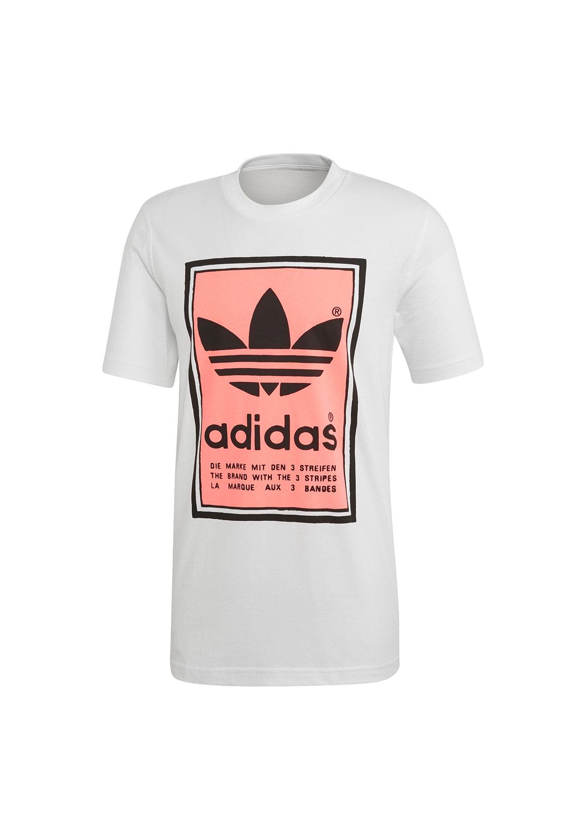 t-shirt adidas herren streifen