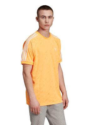Adidas Originals T-Shirt Herren MONO JERSEY ED7040 Orange – Bild 3