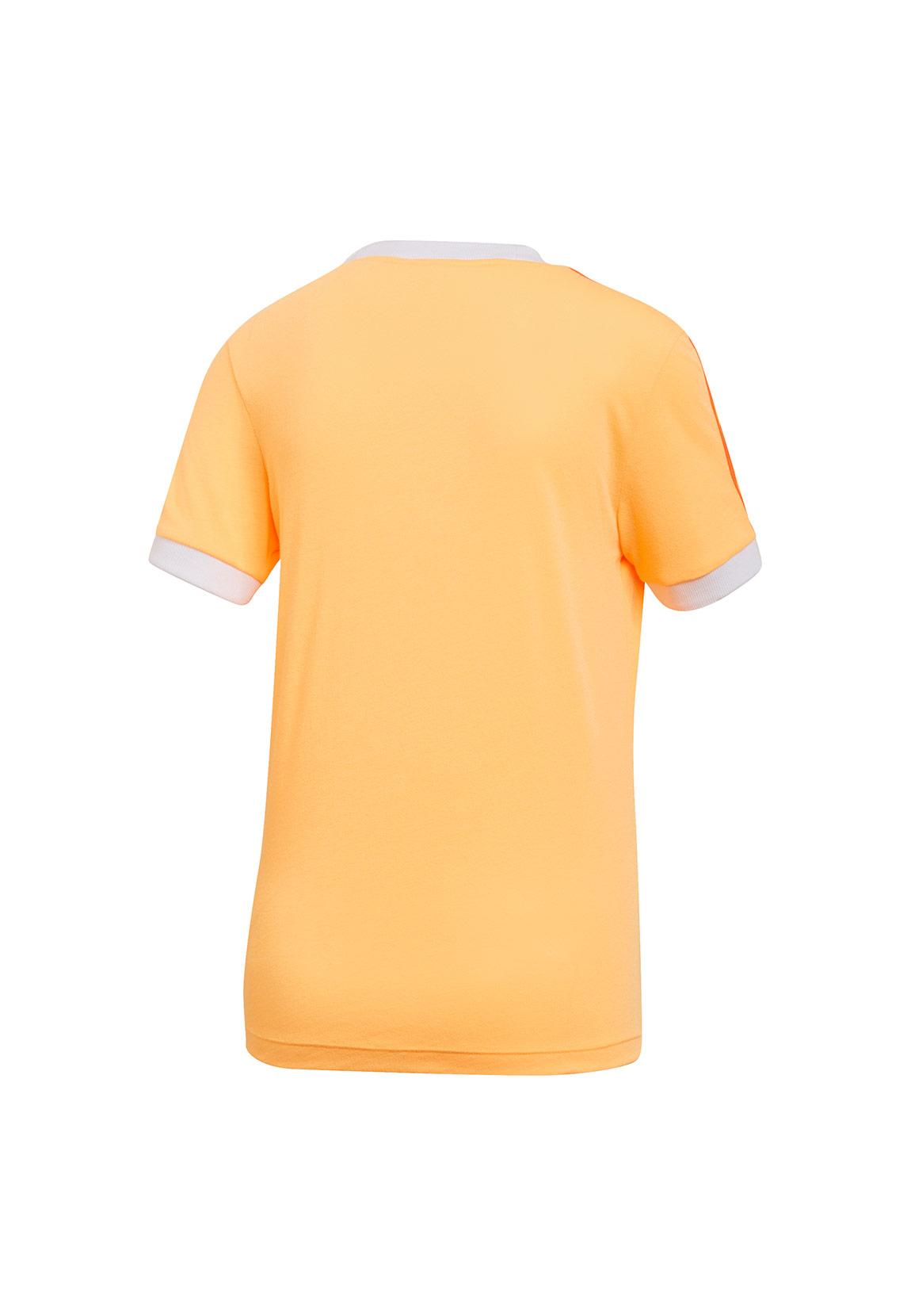 Adidas Originals T Shirt Damen 3 STR TEE ED7475 Orange