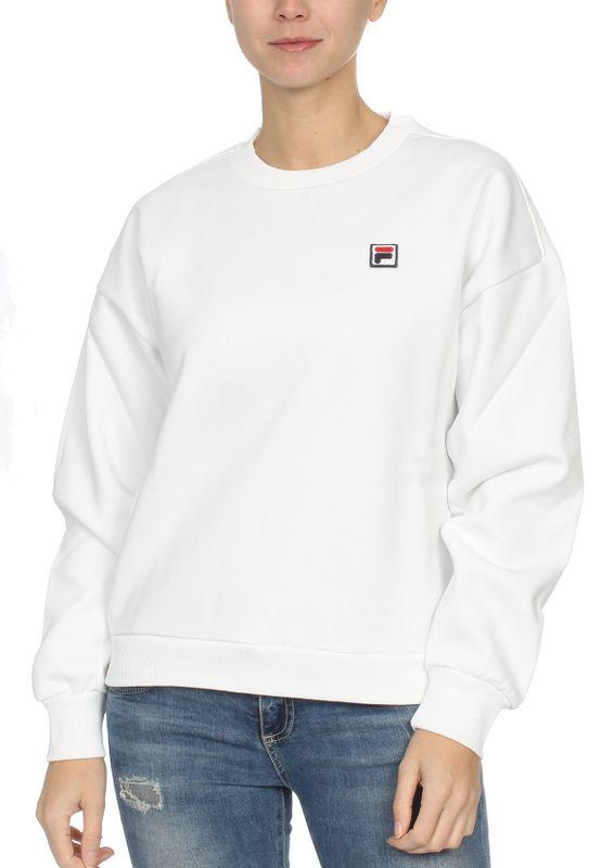 Fila Sweater Damen SUZANNA CREW SWEAT 687456 M67 Bright White Ansicht