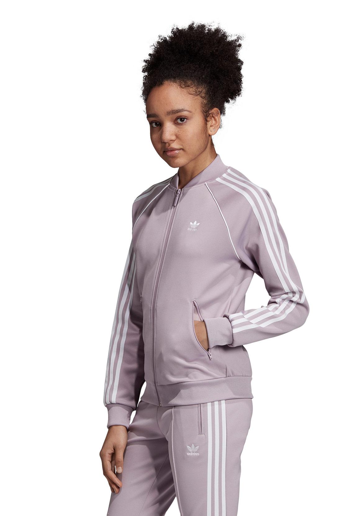 Adidas Sweatjacke Damen SST TT ED7591 Lila