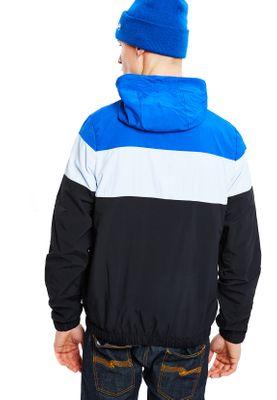 Ellesse Zipper Herren MATTAR TRACK TOP Blau Weiß Schwarz Black – Bild 2