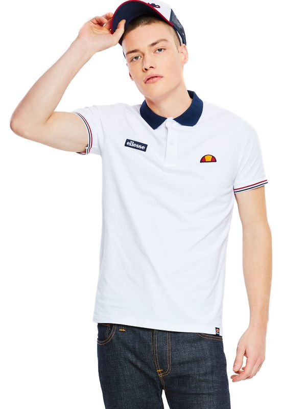 Ellesse Polo Herren LIMENTRA POLO Weiss White Ansicht