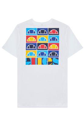 Ellesse T-Shirt Herren FONDATO TEE Weiss White – Bild 3