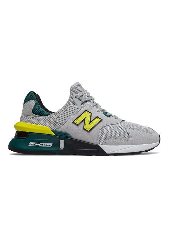 New Balance Sneaker Herren MS997JKA Hellgrau JKA Grey Ansicht