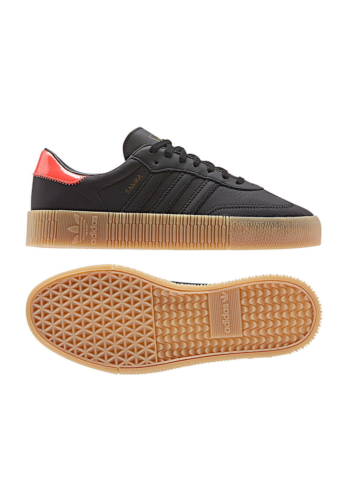 usa cheap sale promo codes new styles adidas schwarz orange sneaker