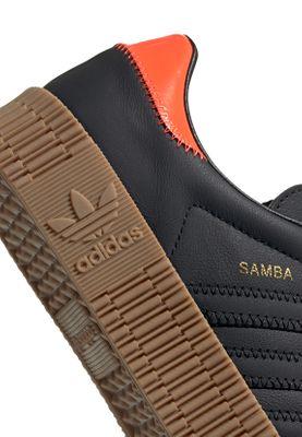 Details about Adidas Originals Trainers Sambarose W EE7156 Black Orange