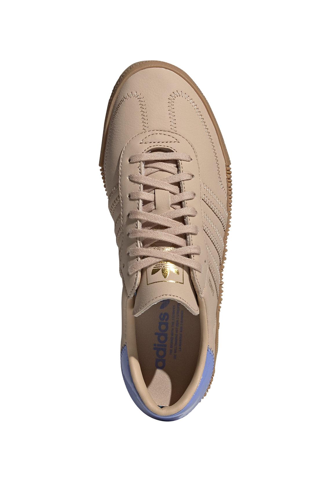 Adidas Originals Sneaker SAMBAROSE W EE7155 Braun Blau