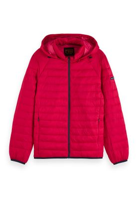 Scotch & Soda Jacket Men CLASSIC HOODED LIGHT WEIHT PADDED JACKET 152011 Rot Boxing Red 3216