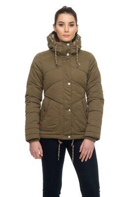 Ragwear Jacke Damen FELOW 1921-60025 Khaki Olive 5031