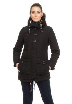 Ragwear Jacke Damen JANE 1921-60029 Schwarz Black 1010