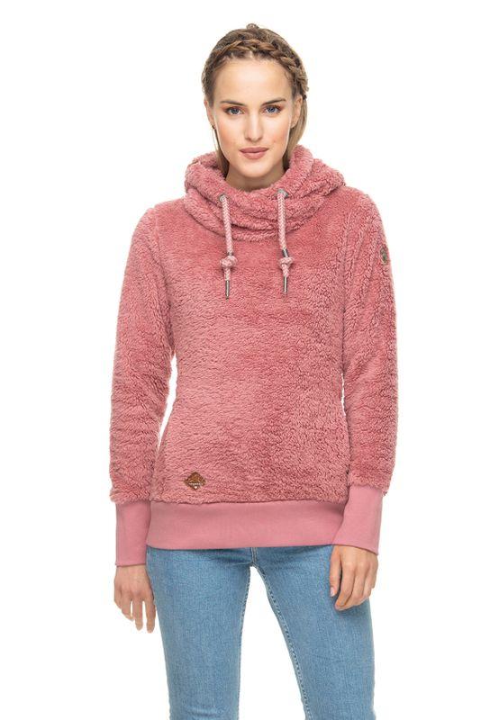 Ragwear Pullover Damen GRIPY TEDDY 1921-30018 Rosa Old Pink 4053 Ansicht