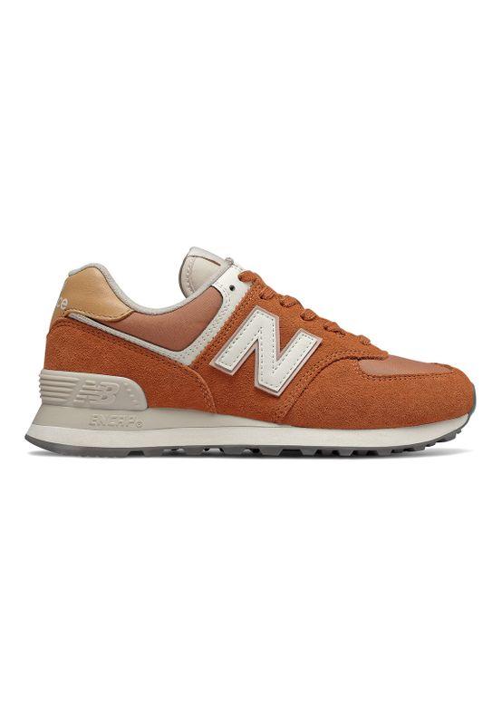 New Balance Sneaker Damen WL574SYN  Braun SYN Brown Ansicht
