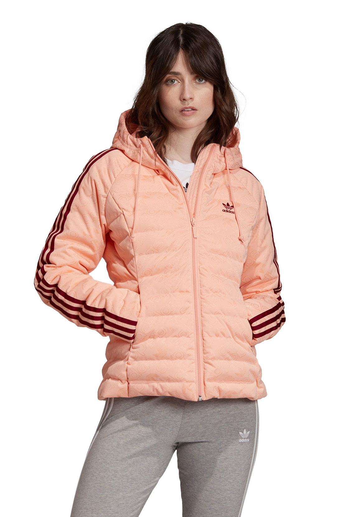 Adidas Originals Jacke Damen SLIM JACkET ED4739 Rosa