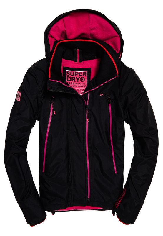 Superdry Jacke Damen VELOCITY ARCTIC SD WINDCHEATER Black Ansicht