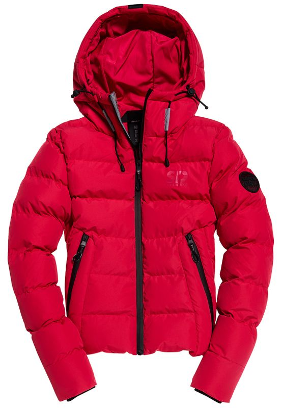 Superdry Jacke Damen SPIRIT PUFFER ICON JACKET Rose Red Ansicht