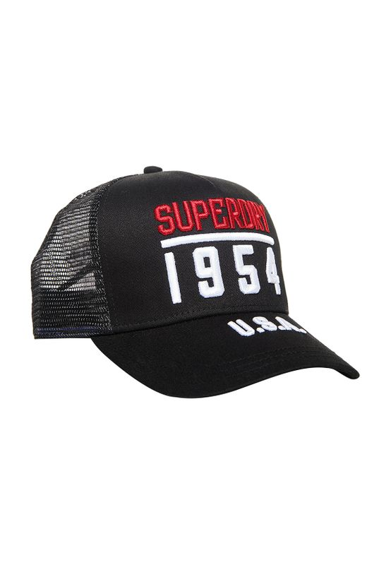 Superdry Cap TRUCKER CAP Black Ansicht