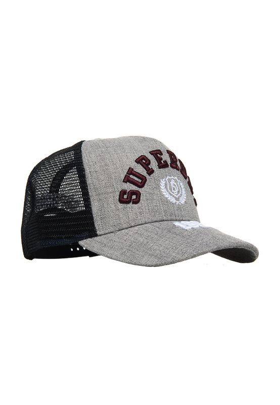 Superdry Cap TRUCKER CAP Grey Marl Ansicht
